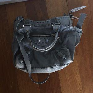 Balenciaga City Brogue bag